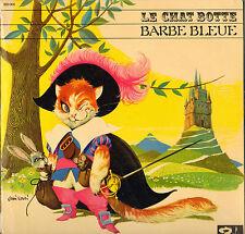 """DANY ROBIN / PIERRE BRASSEUR """"LE CHAT BOTTE / BARBE BLEUE"""" 60'S LP"""