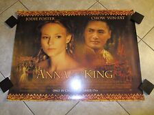 Anna and the King movie poster - Jodie Foster, Chow Yun Fat - 30 x 40 inches