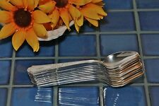 Set of 12 IS 1847 Rogers Bros ANCESTRAL Silverplate Fruit Orange Spoon 1924 mono