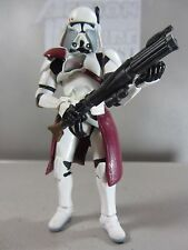 COMMANDER BACARA Revenge of the Sith Star Wars Clone Trooper Action Figure Toy
