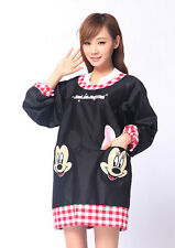 love kitchen Disney mickey Long sleeve Adult Kitchen Apron Cooking CUTE GIFT