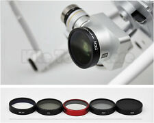 PGY ND4+ND8+MCUV+CPL filter+Lens Protector Cover Cap For DJI phantom 3/4 Camera