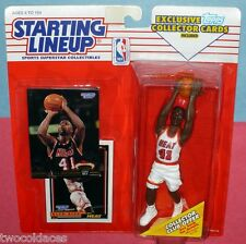 1993 GLEN RICE sole Miami Heat - low s/h - Rookie Starting Lineup Kenner NBA