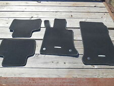 Mercedes-Benz Black Velour Floor Mats Set Of Four 2012 E350