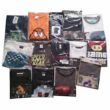 Job Lot Game T Shirts 45 Official Items Per Box Various Sizes & Types