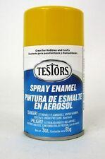 Testors Model Master GLOSS YELLOW Enamel Spray Paint Can  3 oz.  1214