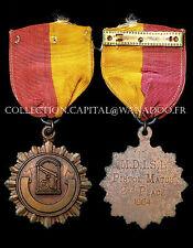 Médaille de Tir, Pistol Match, 2nd Place. MDISL. 1964