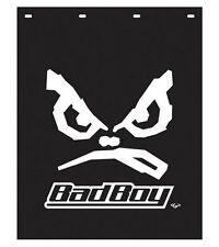 "Bad Boy 24"" x 30"" Black Polyguard Semi Truck Mud Flaps-Pair"