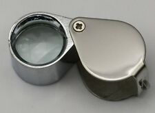 10x Loupe magnifier magnifying glass watch part jewelers craft gem eye lens loop