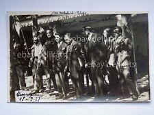 TRIESTE Monrupino Carso Assemblea Cavatori Marmo 1927