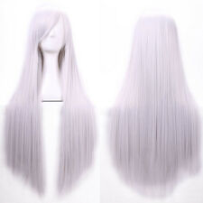 Fashion Full Wig Long Straight Wig Cosplay Party Costume Anime Hair 80CM