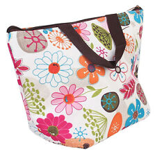 Waterproof Picnic Insulated Lunch Cooler Tote Bag Travel Zipper Organizer Box