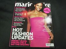 2009 NOVEMBER MARIE CLAIRE UK EDITION MAGAZINE - ALEXANDRA BURKE COVER - O 6033