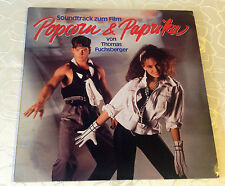 "POPCORN & PAPRIKA (LP) ""ORIGINAL SOUNDTRACK"" [1984 / ""THOMAS FUCHSBERGER""]"