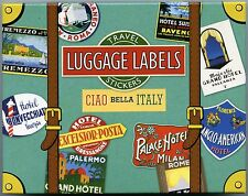 Italy Stickers - Luggage Labels - Vintage Luggage Labels - Italy Luggage  Labels