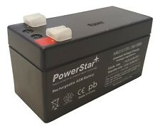 12V 1.3Ah SLA Battery  AGM replaces UB1213 12 volt by Powerstar USA SUPER SALES