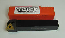 RDGTOOLS 16MM INDEXABLE LATHE TURNING TOOL / TNMG 16 BOXFORD
