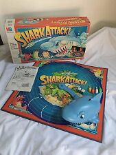 Shark Attack 80's Board Game Complete