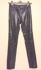 JOSEPH stretch BLACK sequin LEATHER leggings PANTS trousers GOAT £1200 BNWT