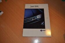 CATALOGUE Saab 9000 Forme & Fonction de 1993
