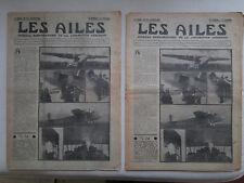 AILES 1935 723 SAVOIA S-74 SEVERSKY RADIO COMPAS HANDLEY-PAGE SOUFFLERIE MEAULTE