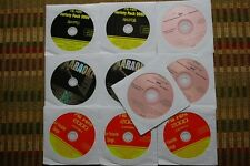 10 CDG DISCS OLDIES & COUNTRY KARAOKE - CHEAP TRICK.LITA FORD,OZZY,STYX CD+G 30c