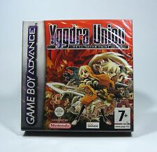 YGGDRA UNION für Nintendo GBA - NEU und in Folie GameBoy Advance game boy