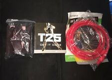 Shawn T's Focus T25 Alpha & Beta with weights and straps