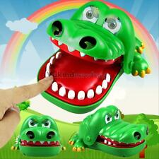 Large Crocodile Mouth Dentist Bite Finger Game Funny Toy Kids Children Xmas Gift