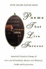 Poems That Live Forever, Hazel Felleman, Good Book