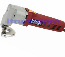 18 GAUGE ELECTRIC POWERED STEEL SHEET METAL HAND TIN SNIPS SHEARS CUTTING CUTTER