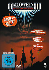 HALLOWEEN 3 III uncut DIE NACHT DER ENTSCHEIDUNG Season Of The Witch  DVD Neu