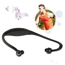 Sport Wireless Headset Headphone Earphone MP3 WMA Music Player Micro SD TF