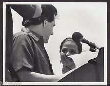 VINTAGE PRESS PHOTO / GOV. RAFAEL HERNANDEZ COLON / PUERTO RICO / 1980's / #12