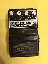 DOD FX86B DEATH METAL DISTORTION PEDAL GOOD SHAPE