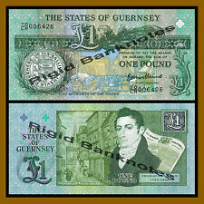 Guernsey 1 Pound, ND 2013 P-New Commemorative Issue Unc
