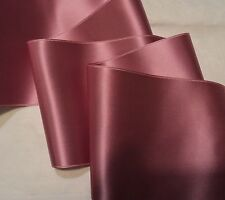 "1"" WIDE SWISS DOUBLE FACE SATIN RIBBON- MAUVE - BY THE YARD"