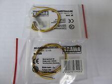 Brawa 10 x 3400 Beleuchtungssockel mit Glühlampe,  Spur H0 OVP,Neuware