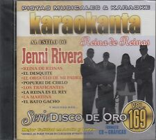 Jenni Rivera serie Disco de Oro Vol 169 Karaokanta  Karaoke CD New Nuevo Sealed