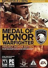 Medal of Honor: Warfighter -- Project Honor Edition Walmart Exclusive (PC, 2012)