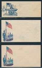 #M-F-3a//73 UNION CIVIL WAR PATRIOTIC CVS SOME DUPLICATION & FLAWS 5 DIFF BR4732