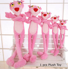 Pink Panther Cartoon Leopard Soft Dolls Stuffed Animal Plush Toy Kids Gift 60cm