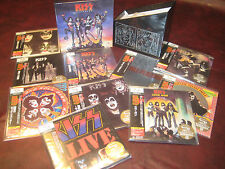 KISS DESTROYER JAPAN 2009 SHMCD AUDIOPHILE MASTERED OBI 10 REPLICAS CD BOX SET