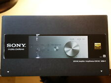 NEW silver Sony UDA-1 UDA1/S Hi-Res USB DAC stereo amplifier system for PC Audio