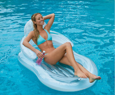 Inflatable Ride On Float Swimming Pool Kids Summer Party Toy Raft Lounge Fun Hot