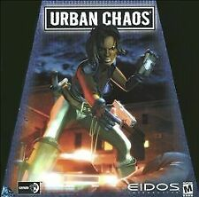 Video Game PC Urban Chaos by Eidos BIG Trapezoid BOX NEW SEALED