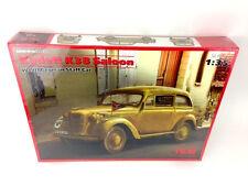 ICM Model Kit 1:35 scale Kadett K38 Saloon WW2 German Nazi Army Staff Car Opel