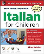 Italian for Children, Third Edition (Book & CDs), Catherine Bruzzone