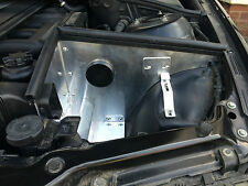 Bmw e46 cai bouclier thermique induction kit d'admission d'air froid. filtre drift. custom built
