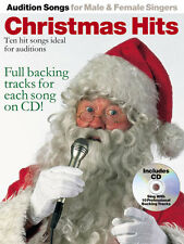 Audition Songs Male Female Singers Christmas Hits SING Pop PVG Music Book